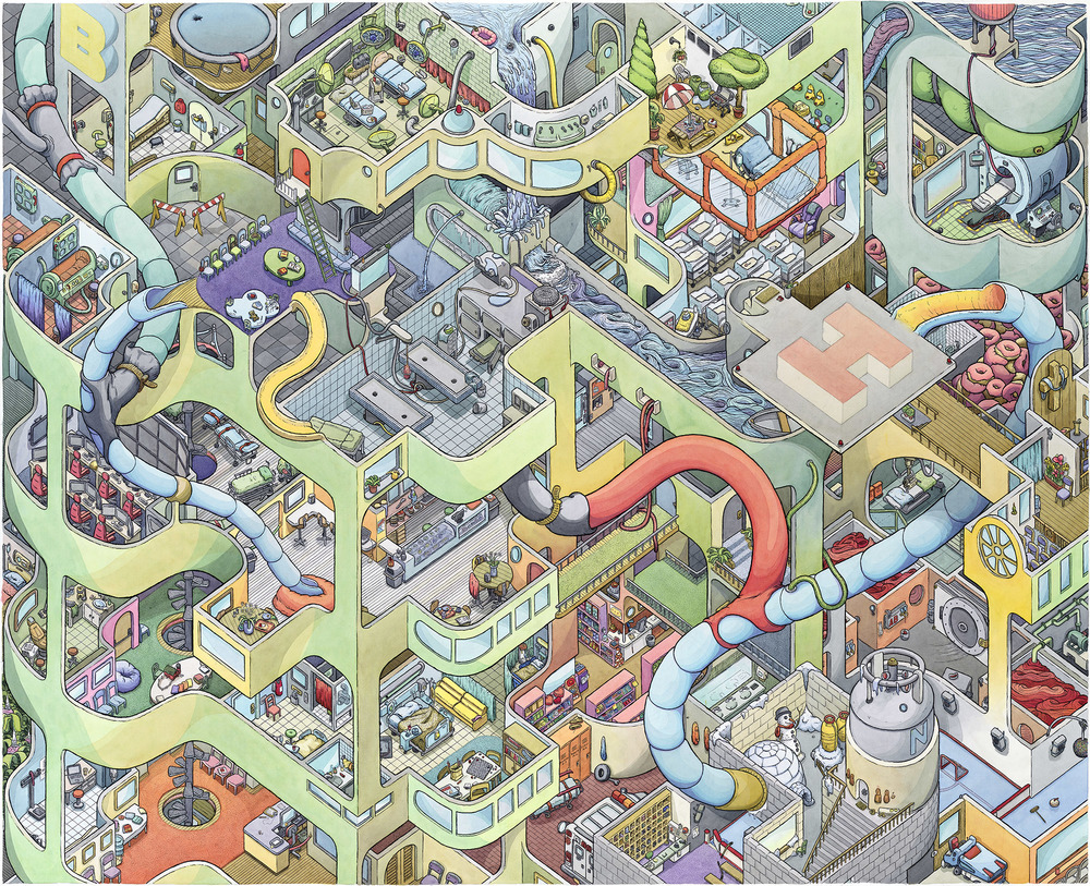 "Scott Teplin's ""Big Hospital"""